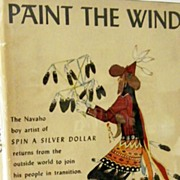 SALE Paint the Wind 1st Edition Signed by Navaho Artist Yazz