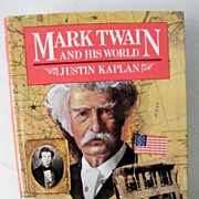 SALE Mark Twain and His World 1st Edition Out - of  - Print
