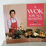 SALE Martin Yan Cook Book (Yan Can Cook) 1988 1st Edition