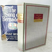 SALE The Song of Bernadette 1st Edition
