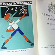 SALE Pinocchio in America 1st Edition by Angelo Patri