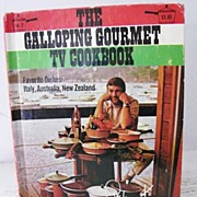SALE The Galloping Gourmet TV Cookbook
