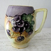 SALE Handpainted Rosenthal Bavarian Stein / Grapes Excellent!