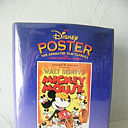 SALE Book of Disney Posters 1st Edition * OVER 100 Posters, Mickey Mouse and more!