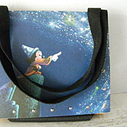 SALE Mickey Mouse Fantasia Vintage LP Record Purse