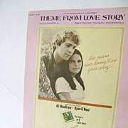 SALE Theme From Love Story sheet music