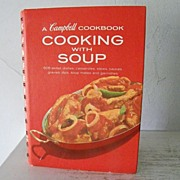 SALE Campbell Soup Cook Book  1972 mint!