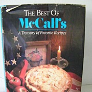 SOLD The Best of McCall's Cook Book