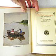 SALE Gritli's Children by Johanna Spyri  8 color illustrations (author of Heidi)