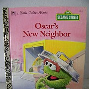 SALE Oscar's New Neighbor 1st editionn