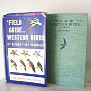 SALE A Field Guide to Western Birds 1st Edition 1941 740 Illustrations