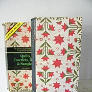 SALE Quilts, Coverlets, Rugs & Samplers  1st Printing & Price Guide