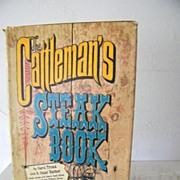 SALE The Cattleman's Steak Book 1st edition 1967 Western Illustrations