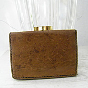 SALE Genuine Leather  Wallet w'  exceptional leather lining