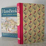 SALE Hans Brinker Illustrated 1945 Illustrated Junior Library edition