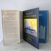 SALE Ships of the U.S. Merchant Marine Signed 1st Edition