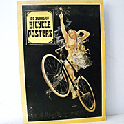 SALE Over Sized Book 100 Years of Bicycle Posters 1st Edition