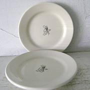 "SOLD 2 Il Fornaio  Homer Laughlin Restaurantware Plates 5 1/2"""