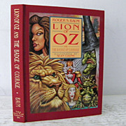SALE Lion of Oz signed by author