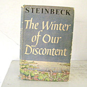 SOLD The Winter of Our Discontent John Steinbeck