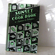 SALE Sunset All-Western Cook Book 1936