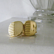 SALE Kreisler Gold content marked Cufflinks