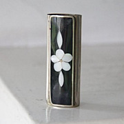 SALE Alpaca & Mother of Pearl lighter cover