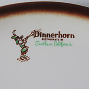 SALE Large Platter Dinnerhorn Restaurants of Southern California