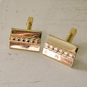 SALE Swank Goldtone Cufflinks