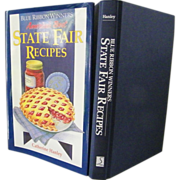 "SALE Blue Ribbon Winners  ""State Fair Recipes"" new condition"