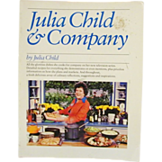 SALE Julia Child and Company Cookbook