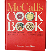 SOLD McCalls Cook Book 1963 1st edition, 1st printing Excellent copy
