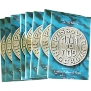 SALE Set of 8 DeLuxe Edition Passover Haggadah Booklets Kosher 1965