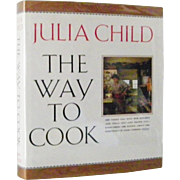 SALE Julia Child The Way To Cook 1st Edition 1st Print Unread