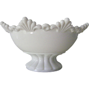 SALE Westmoreland  Milk Glass Bowl Ring and Petal mint condition