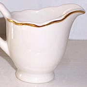 SALE Syracuse China Gravy Boat Vintage 1929