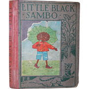 SALE 1923 Little Black Sambo - Wee Book for Wee Folks