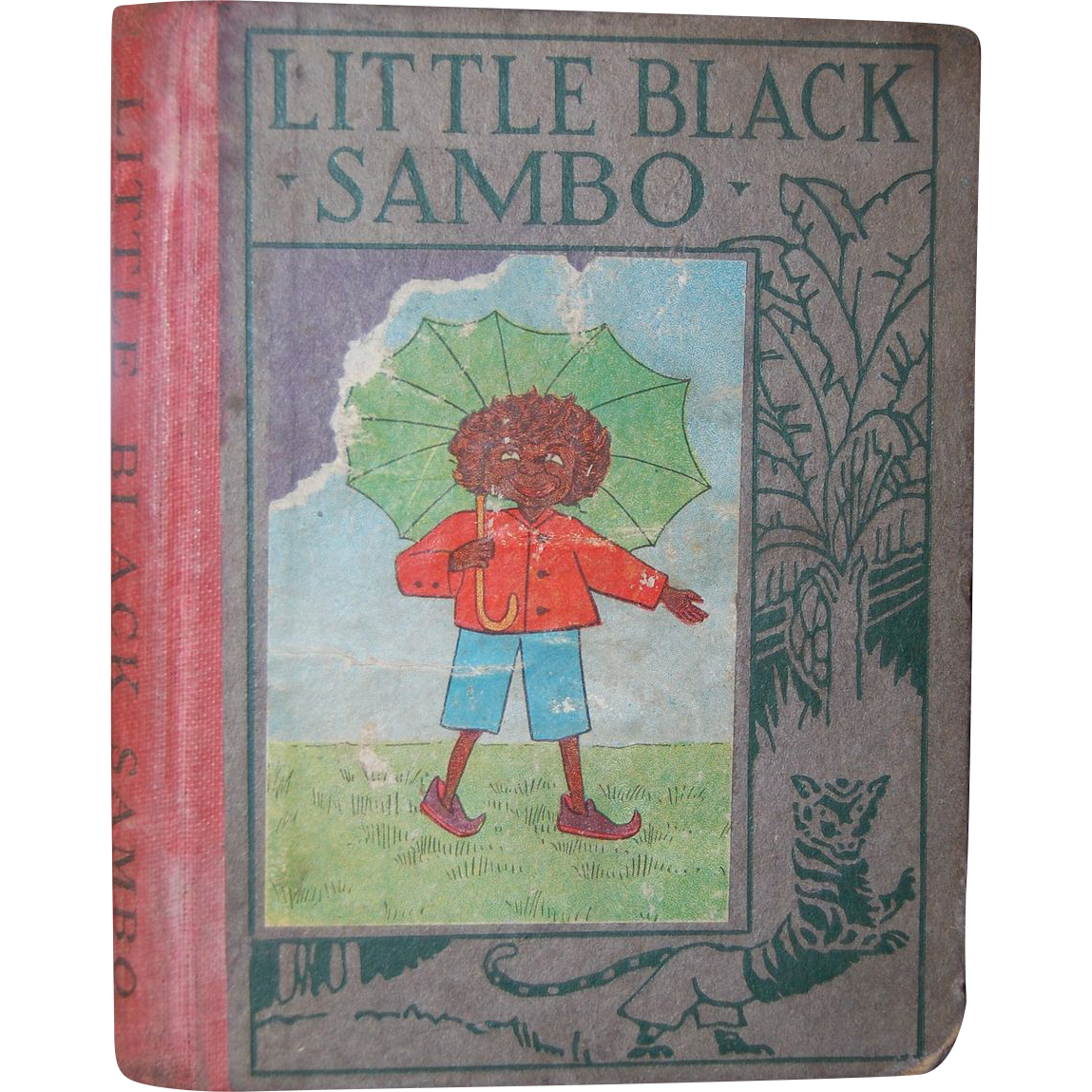 1923 Little Black Sambo - Wee Book for Wee Folks from ...