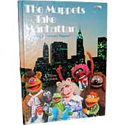 SALE 1984 The Muppets Take Manhattan Movie Storybook