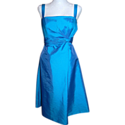 SALE Private Collection Romance Blue Dress