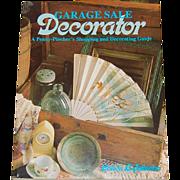 SALE 1989 Garage Sale Decorator Book