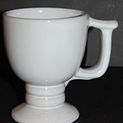 SALE Frankoma ~ Westwind White Sand Pattern #C13 ~ Pedestal Mug