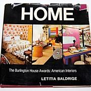 SALE 1972 HOME ~ Burlington House Awards: American Interiors Book