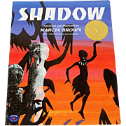 SALE 1982 Shadow Softcover Book ~ Author Marcia Brown