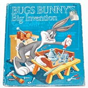 SALE 1953 Bugs Bunny's Big Invention Book
