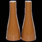 "SALE 1950s Mikasa ~ Westwood Cera-Stone 6.25"" S & P Shakers"