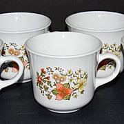 SALE 1960/70s Corelle ~ Indian Summer Mugs ~ Set of 7