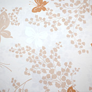 SALE 1960/70s Springmaid ~ Butterfly Double Flat Sheet
