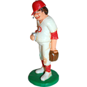 SALE 1989 Wilton ~ Smoking Baseball Player w/ Beer Cake Topper ~ Mint in Original Package