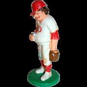 SALE 1989 Wilton ~ Smoking Baseball Player w/ Beer Cake Topper ~ Mint in Original ...